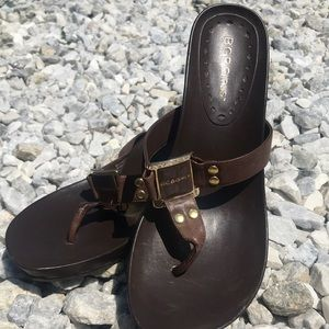 Brown BCBGirls sandals